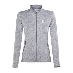 Odlo Alagna Full Zip Midlayer Women grey melange